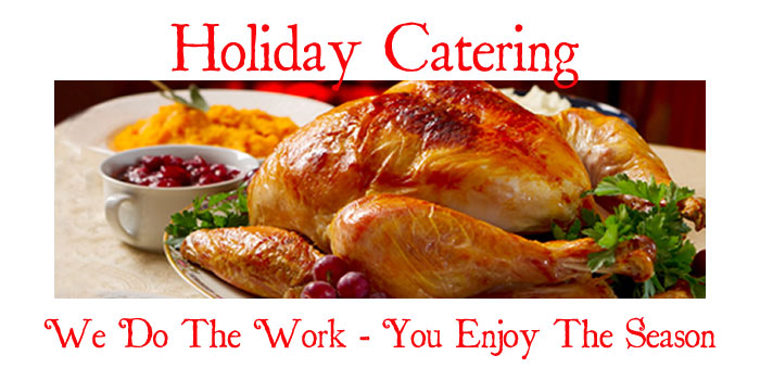 CASERTANO'S CUCINA HOLIDAY CATERING MENU